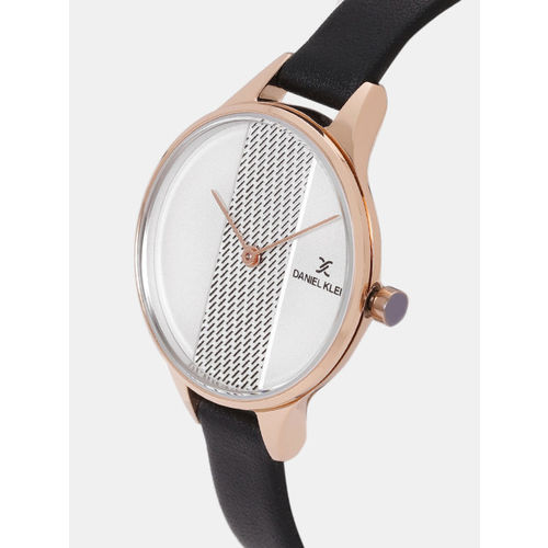 Daniel Klein Fiord Women Silver-Toned Analogue Watch DK12050-2