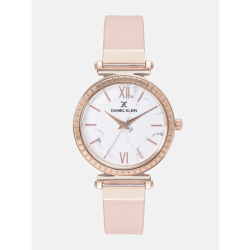 Daniel Klein Women White Analogue Watch 12071-4