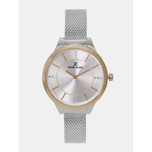 Daniel Klein Premium Women Silver-Toned Analogue Watch DK11587-7