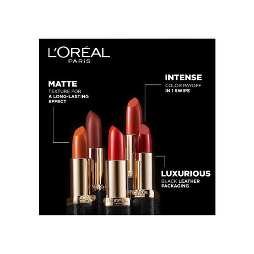LOreal Paris Color Riche Moist Rose Nuance Matte Lipstick 242 3.7 g