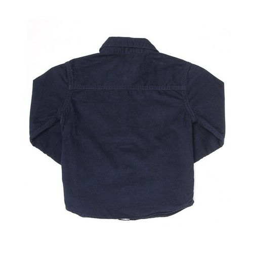 Pepe Jeans Kids Navy Textured Shirt
