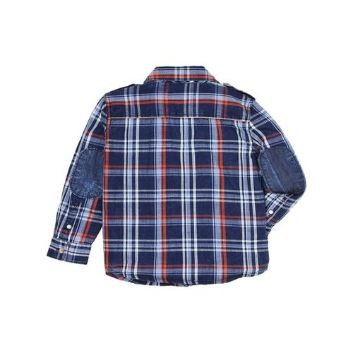 Pepe Jeans Kids Navy Checks Shirt