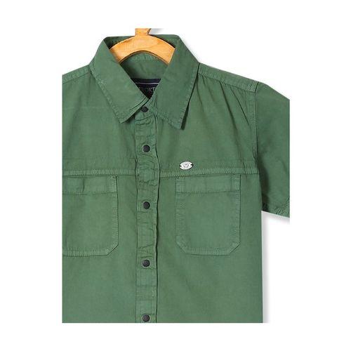 Cherokee Kids Olive Solid Shirt