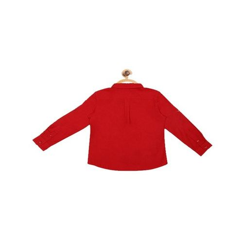United Colors of Benetton Kids Red Solid Shirt