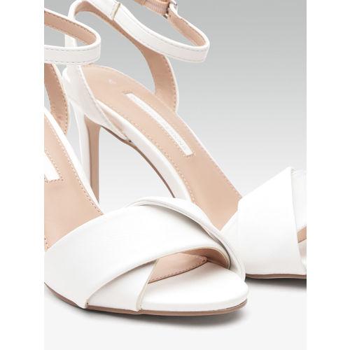 DOROTHY PERKINS Women White Solid Stilettos
