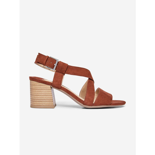 DOROTHY PERKINS Women Brown Solid Heels