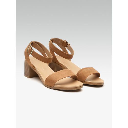 DOROTHY PERKINS Women Brown Solid Heels