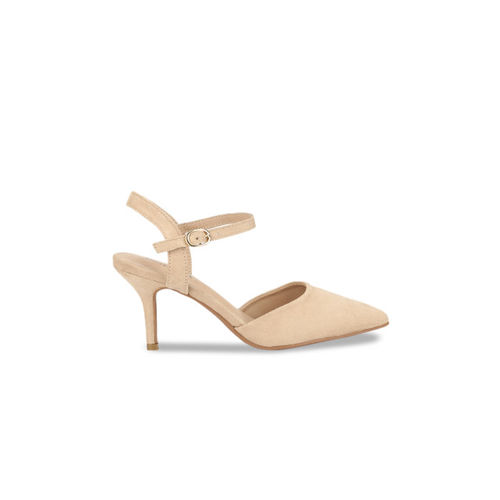 Truffle Collection Women skin -Coloured Solid Pumps