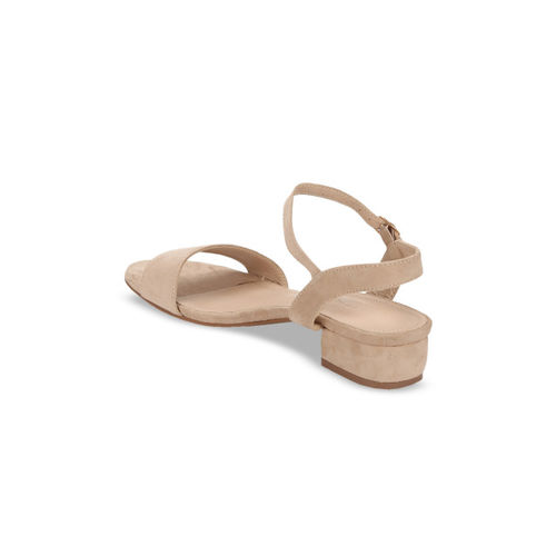 Truffle Collection Women skin -Coloured Solid Heels