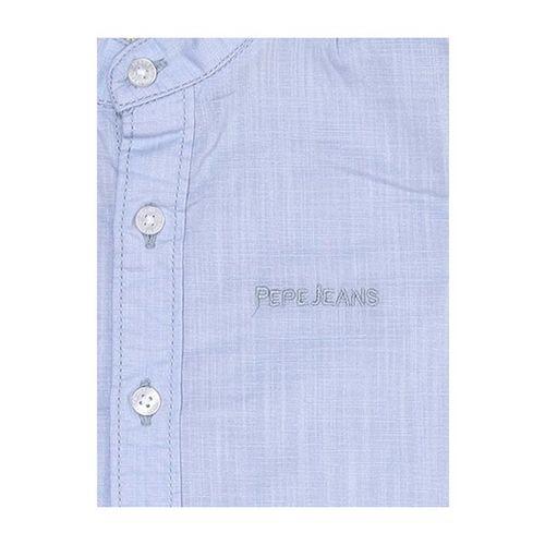 Pepe Jeans Kids Blue Cotton Shirt