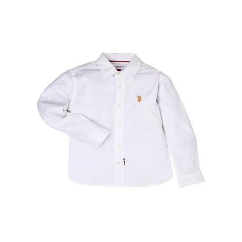 U.S. Polo Assn. Kids White Solid Shirt