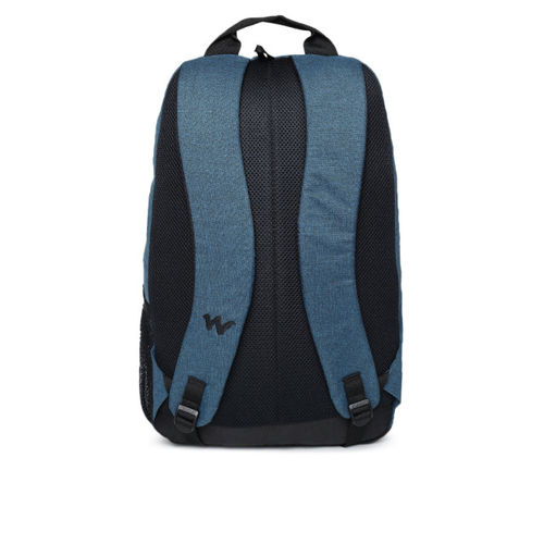 Wildcraft Unisex Blue Solid Backpack