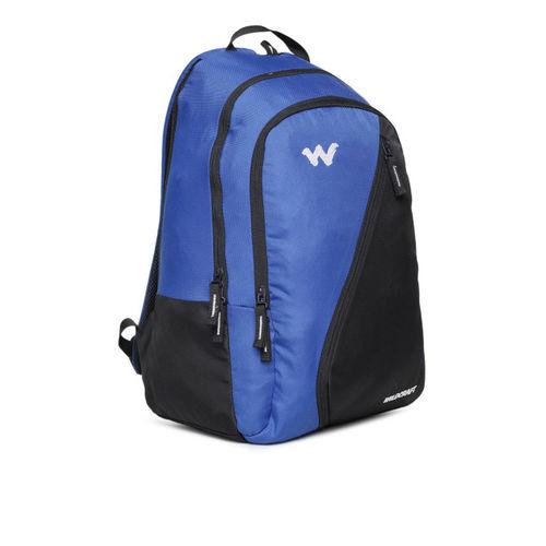 Wildcraft Unisex Blue & Black Colourblocked Backpack