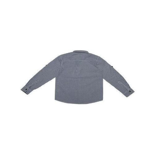 Allen Solly Junior Navy Checks Shirt