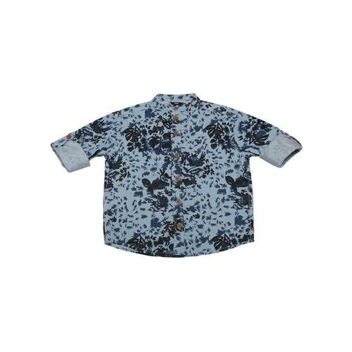 Allen Solly Junior Blue Printed Shirt