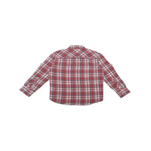 Allen Solly Junior Red Checks Shirt