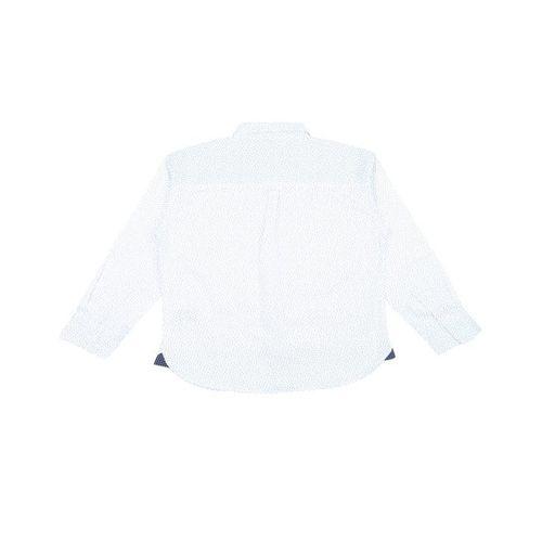 Gini & Jony Kids White Printed Shirt