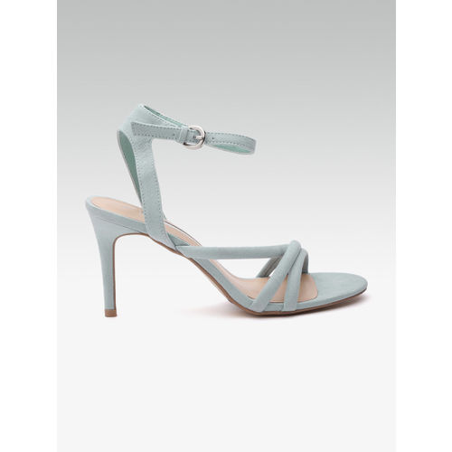 DOROTHY PERKINS Women Blue Solid Heels