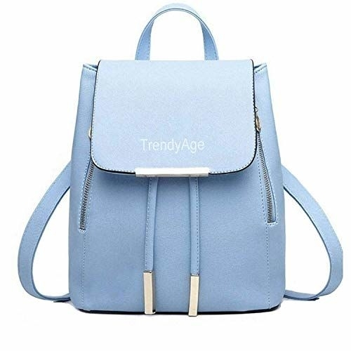 TrendyAge - Fashion Women's And Girls Stylish Pu Backpack For College Girls, Top College Backpack