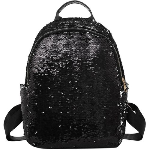 MOCA Womens little kid kids Girls Sequins Large Picnic Outdoor Travel School Tutions college Daypack Rucksack Backpack Bag for Girls Womens mini small 30 L