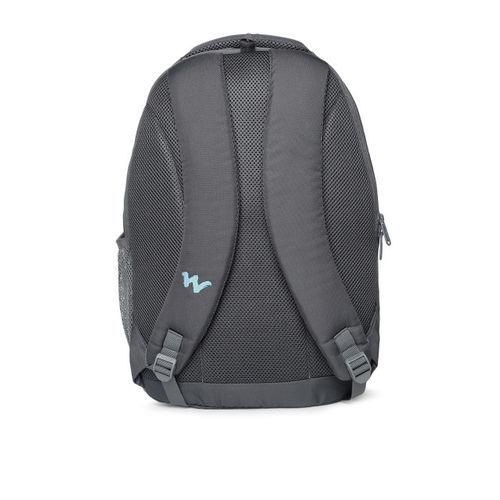 Wildcraft Unisex Grey Solid AM LBP 3.1 Laptop Backpack