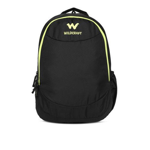 Wildcraft Unisex Black Solid MT BP 1 Backpack