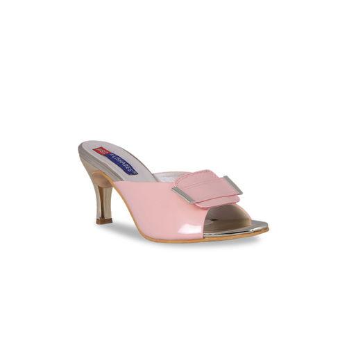 MSC Women Pink Solid Heels