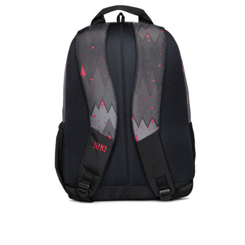 Wildcraft Unisex Black & Grey Wiki N1 Ombre Graphic Backpack