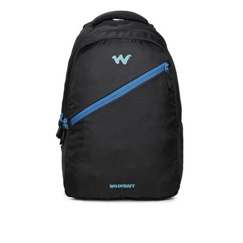 Wildcraft Unisex Black Solid AM BP 4Backpack