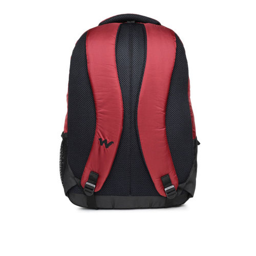 Wildcraft Unisex Red Solid Backpack