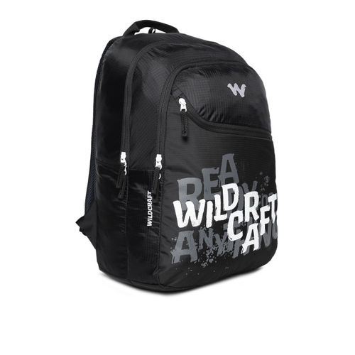 Wildcraft Unisex Black WC 3 RFA Backpack