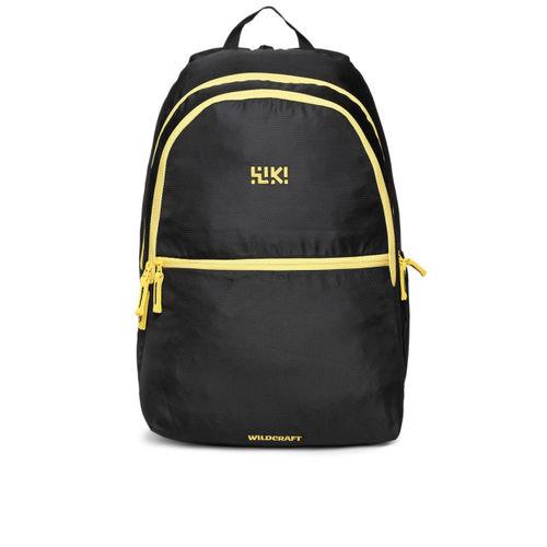 Wildcraft Unisex Black Element 2 Solid Backpack