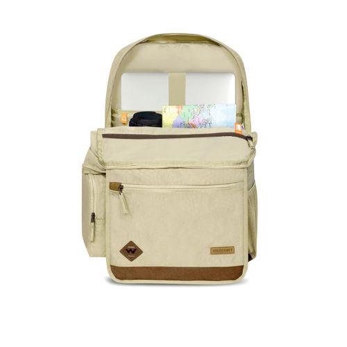 Wildcraft Unisex Beige Solid Backpack