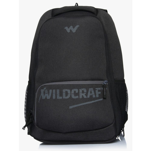 Wildcraft Unisex Charcoal Grey Solid Backpack