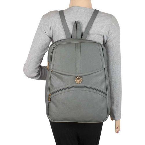 rehan Student Backpack Women Travel bag 10 L Backpack 10 L Backpack(Grey)