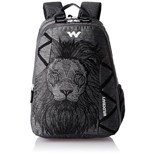 Wildcraft 35 Ltrs Black and Mel Backpack (WC 5 Dare)