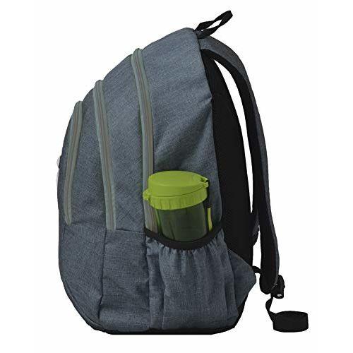 F Gear CrusaderMelange Bu 30 Ltrs Melange Blue Casual Backpack (CrusaderMelange Bu)