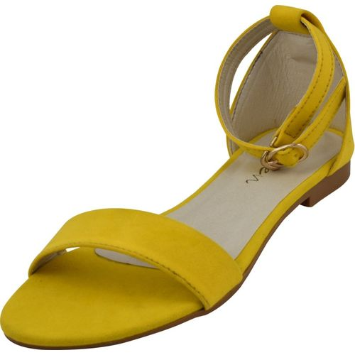 Raien Fashion Women Yellow Flats