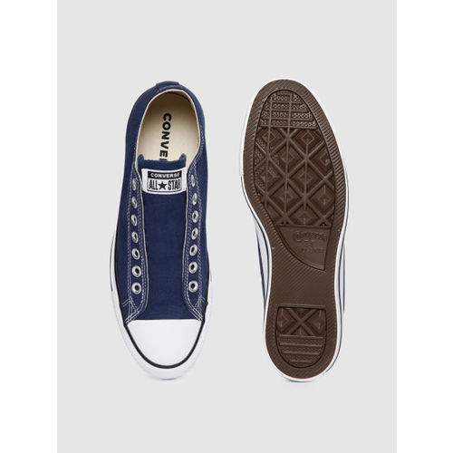 Converse Unisex Blue Slip-On Sneakers