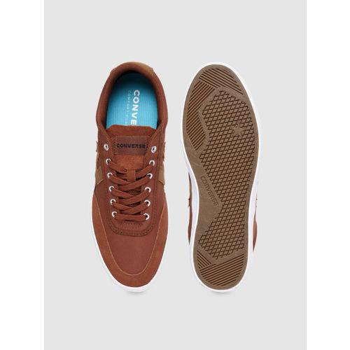 Converse Unisex Rust Brown Sneakers