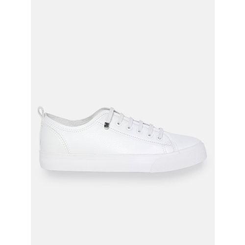 Mast & Harbour Women White Sneakers