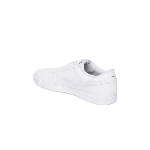 Puma Women White Carina slim SoftFoam+ Sneakers