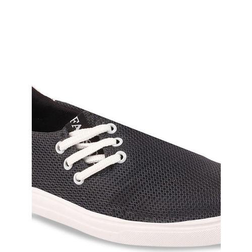 FAUSTO Women Grey Slip-On Sneakers