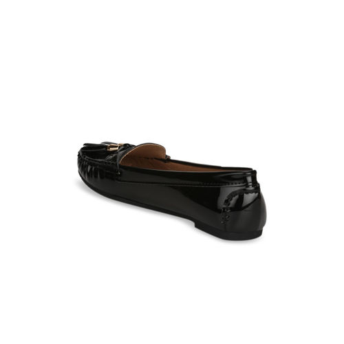 Truffle Collection Women Black Loafers