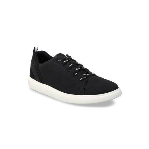 Clarks Women Black Sneakers