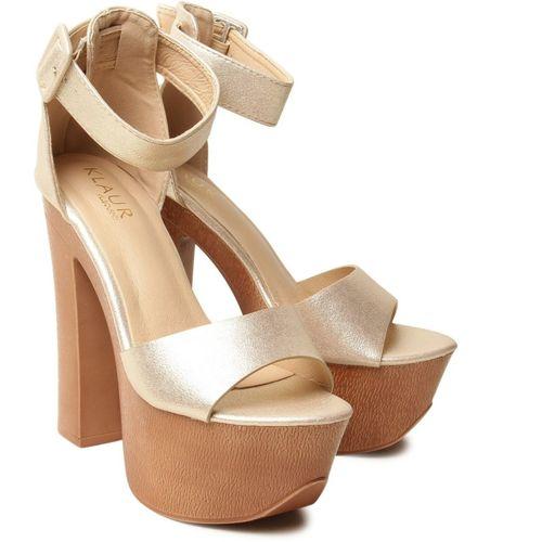Klaur Melbourne Women Silver Heels