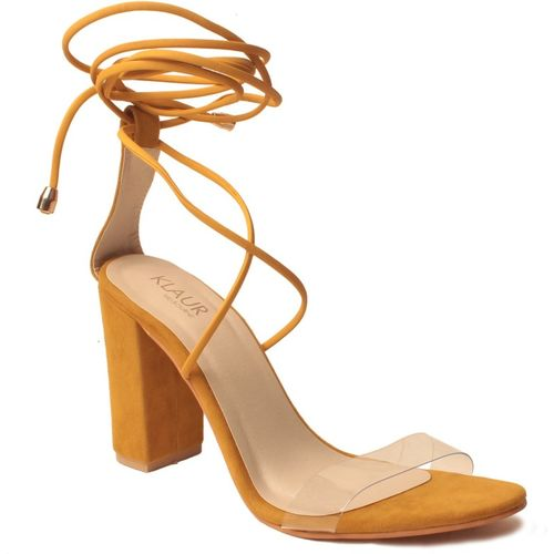 Klaur Melbourne Women Yellow Heels