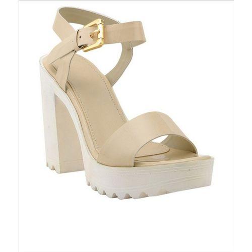 Shoe Cloud Women Beige Heels