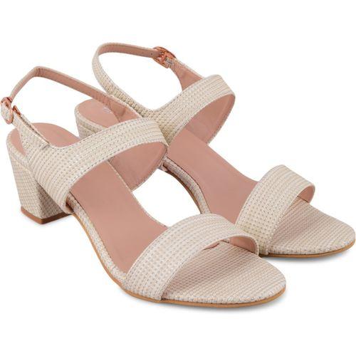 Trendy Look Women Off White Heels