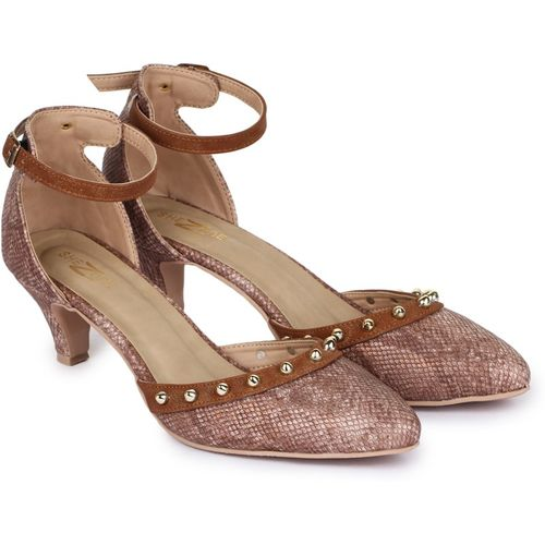 Shezone Women Copper Heels